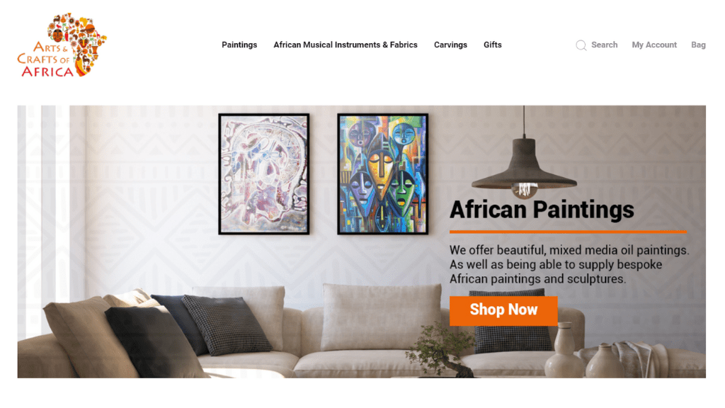 Kadealo, African Arts and Crafts Websites, Arts and Crafts of Africa