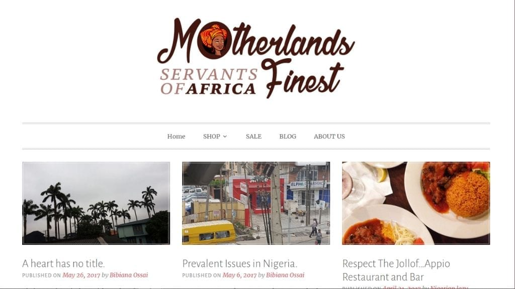 Kadealo, African Beauty Products Websites, Motherlands Finest, Africa