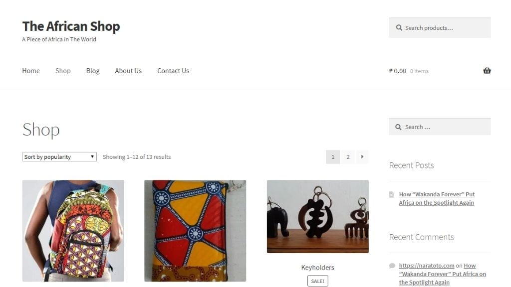 Kadealo, African Style Clothing Online, The African Shop, Africa