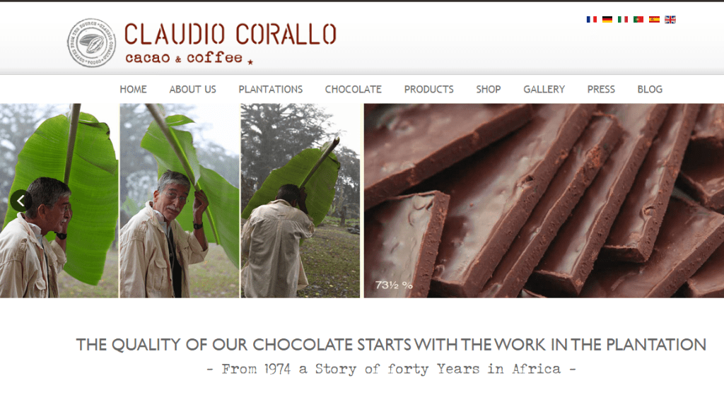 Kadealo, African Food and Condiments Websites, Claudio Corallo Cacao and Coffee, Zaire