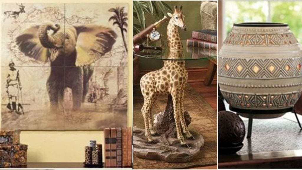 Kadealo, African Interior Design, Statues, Paintings, Unique Items