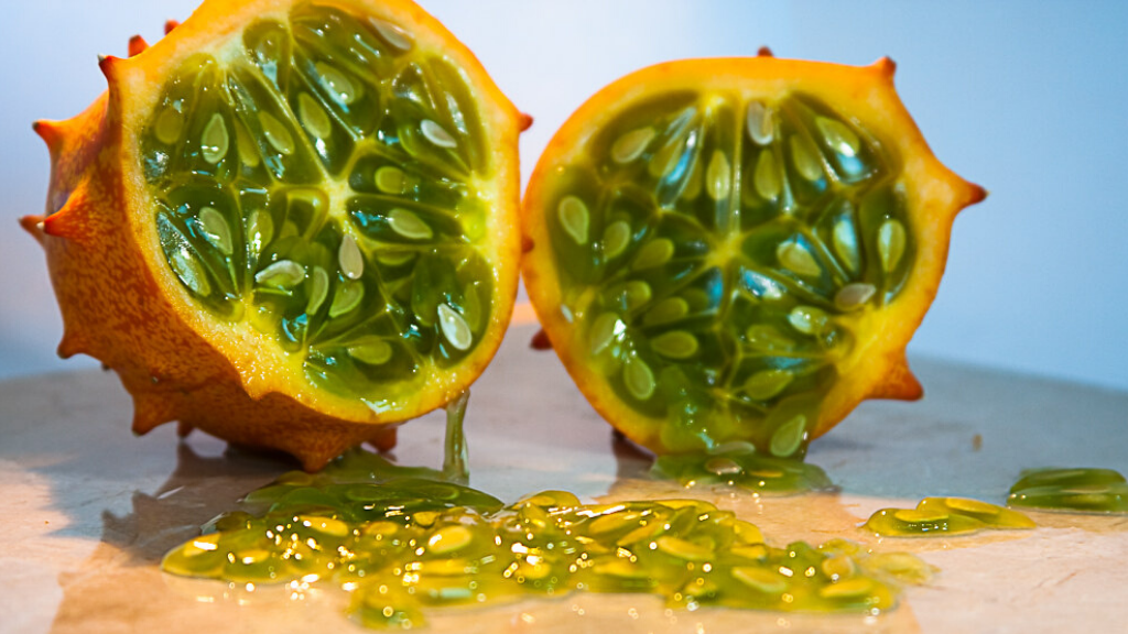 Kadealo, Exotic African Fruits, Horned Melon, New Zealand, Chile, and California