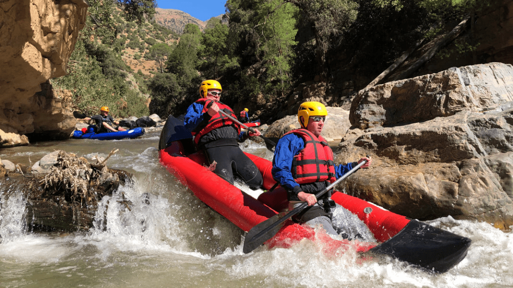 Kadealo, Extreme Sports in Africa, Kayaking, Ahansal River, Morocco