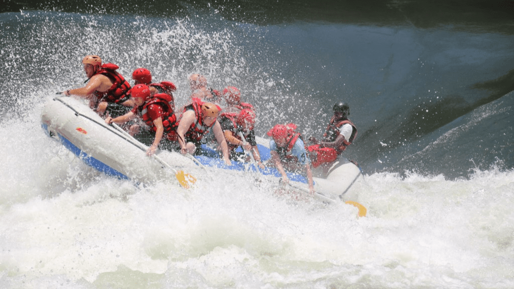 Kadealo, Extreme Sports in Africa, Whitewater Rafting, Victoria Falls, Zambia