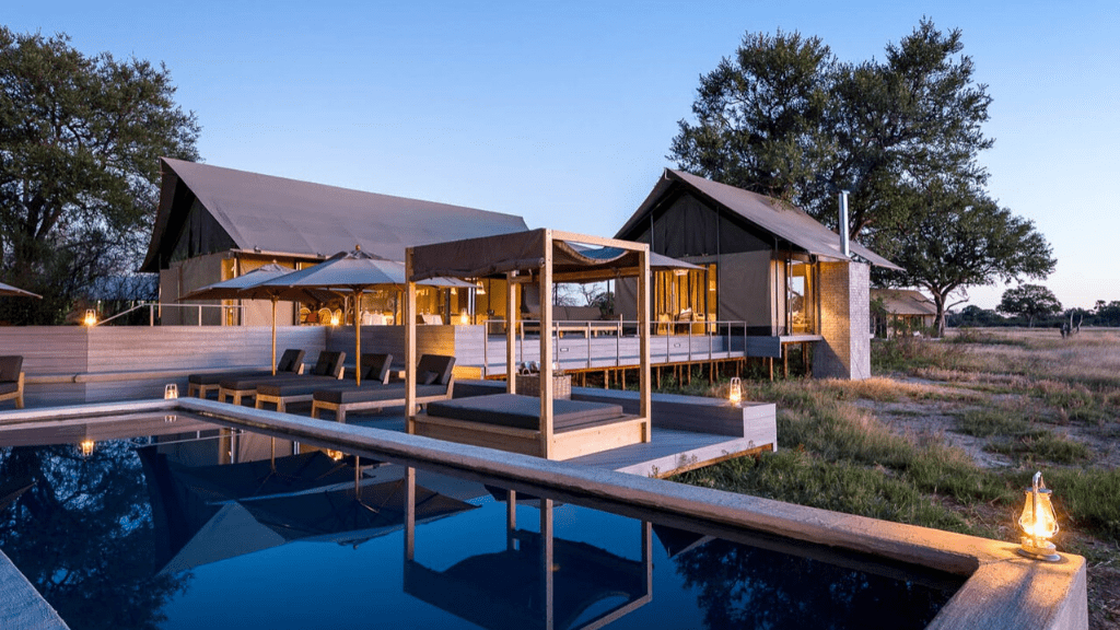 Kadealo, Innovative African Architecture, Linkwasha Camp, Zimbabwe, Hwange National Park