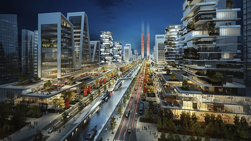 Kadealo, Innovative African Architecture, The Eko Atlantic project, Lagos, Nigeria