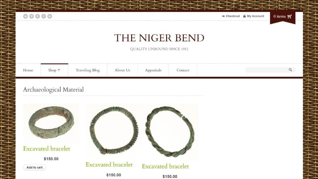 Kadealo African Arts and Crafts Website African Archaeological Material