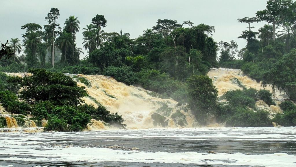Kadealo, African Waterfalls, Rivers and Lakes, Kongou Falls, Gabon
