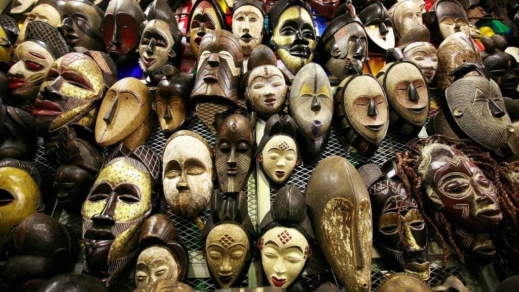 Kadealo, African Masks, Materials