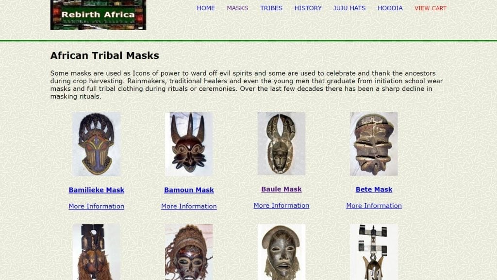 Kadealo, African Masks, Where to Buy