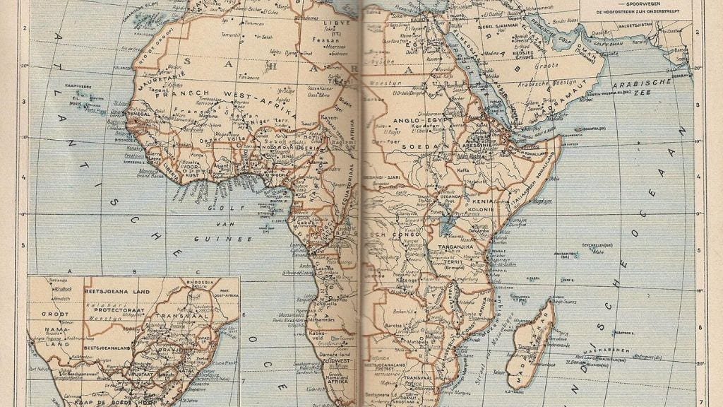 Kadealo, Maps of Africa